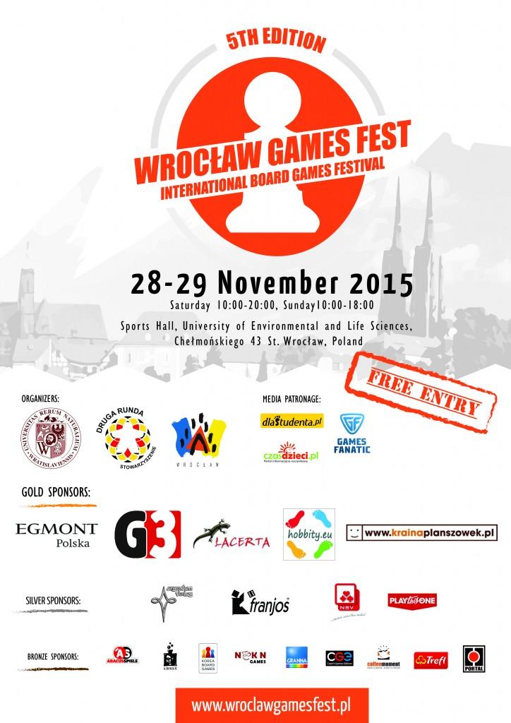 5th edition of Wrocław Games Fest: 28-29 Nov 2015