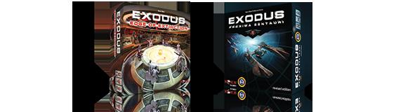 Exodus: Edge of Extinction (an expansion) and Exodus: Proxima Centauri (base game)