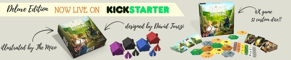 Dice Settlers Kickstarter is live!